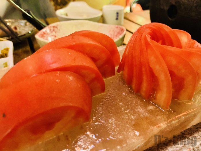 上海牛助冷やしトマト