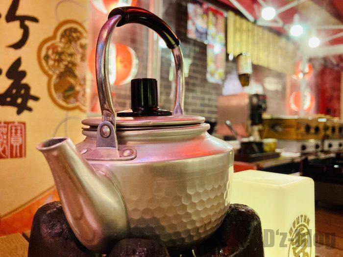 上海牛助日本酒やかん