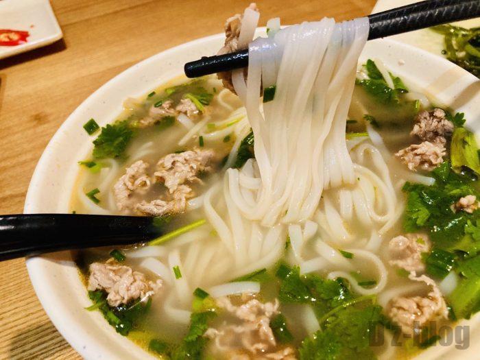 上海越糅越式牛肉粉アップ