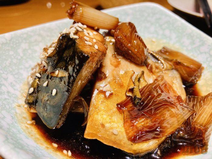 上海銀ぶりの煮つけ