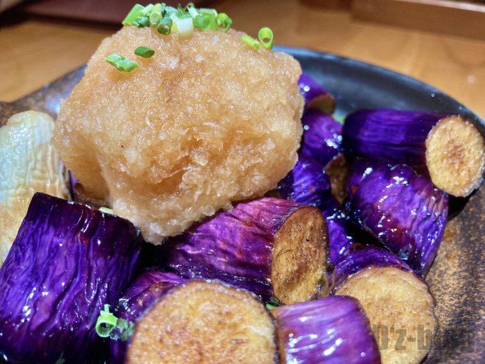 上海銀茄子のおろしのせ