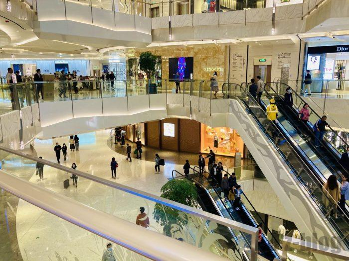 上海IFC百貨店内