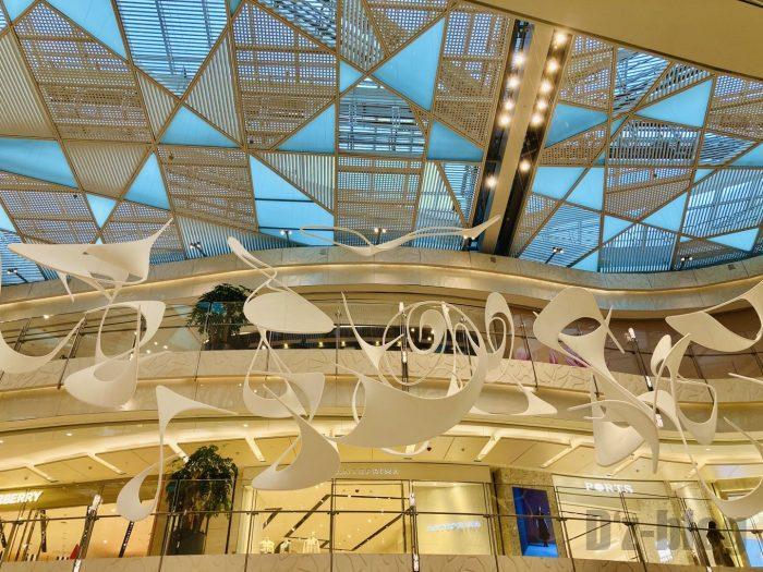 上海IFC百貨店天井