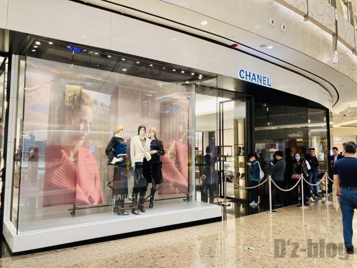 上海IFC百貨店Chanel
