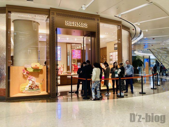 上海IFC百貨店HERMES