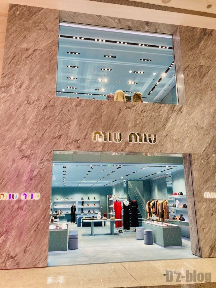 上海IFC百貨店MIUMIU