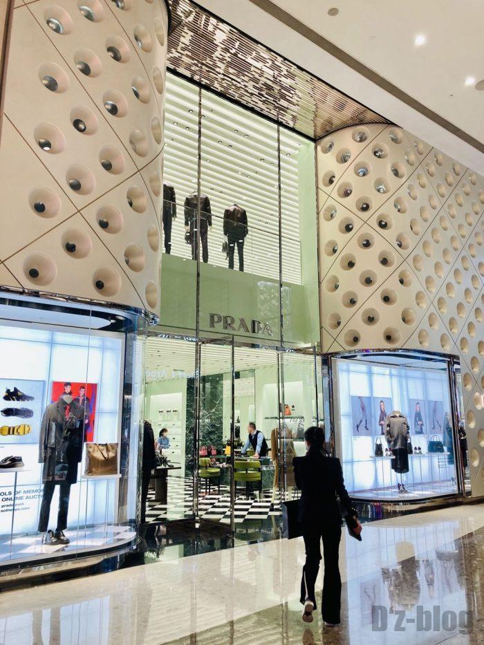 上海IFC百貨店PRADA