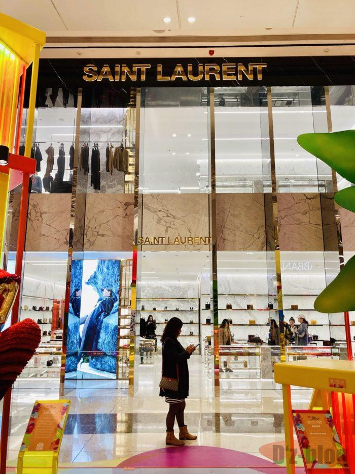 上海IFC百貨店SAINTLAURENT