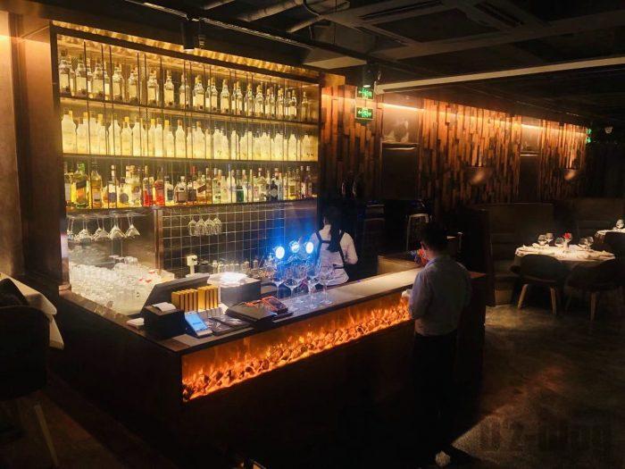 上海PashaTurkishRestaurantドリンクカウンター