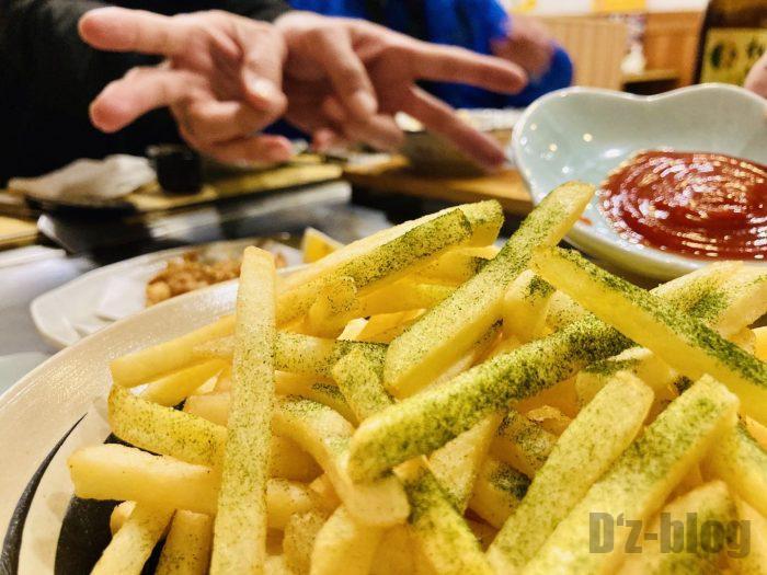 上海ひまりフライドポテト
