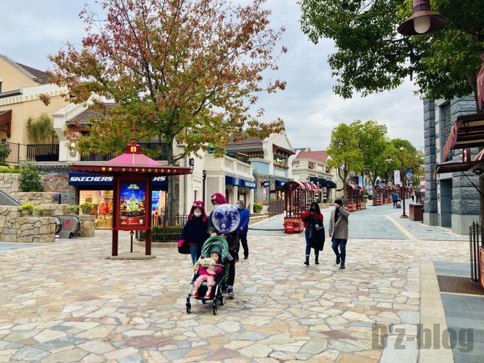 上海ディズニータウン風景①