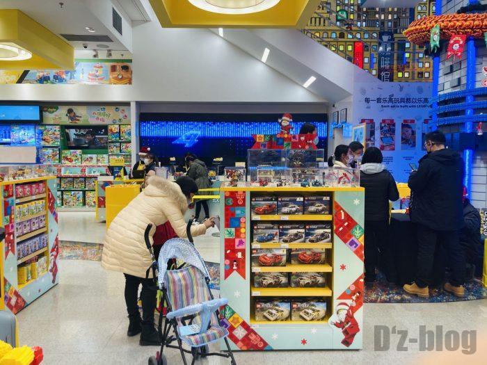 上海レゴショップ店内⑦