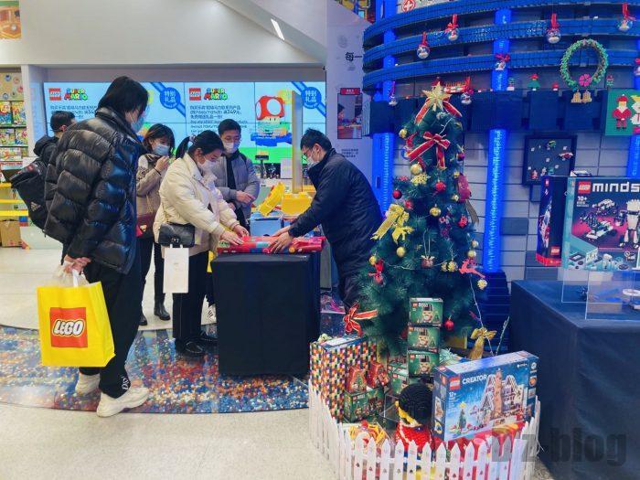 上海レゴショップ店内⑫