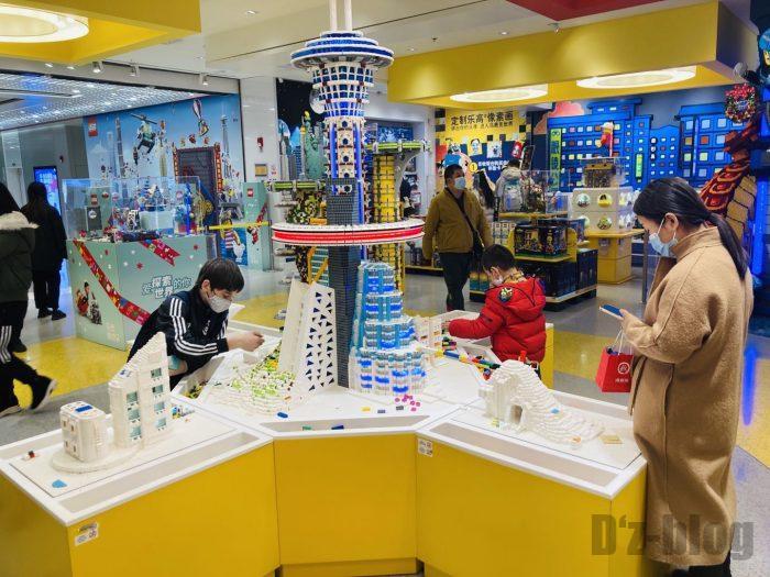 上海レゴショップ店内㉕