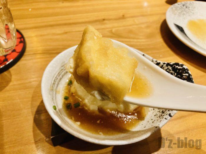 上海九州彦蔵厚揚げ豆腐アップ