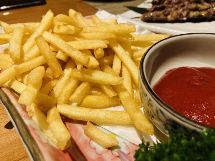 上海味季フライドポテト
