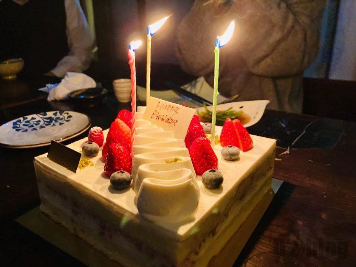 上海布良瀬誕生日ケーキ