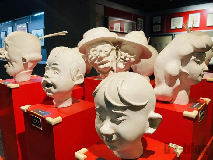 上海漫画博物館館内⑭