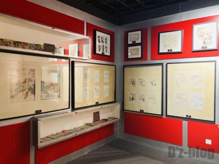 上海漫画博物館館内⑮