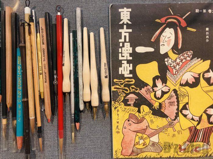 上海漫画博物館館内い⑦