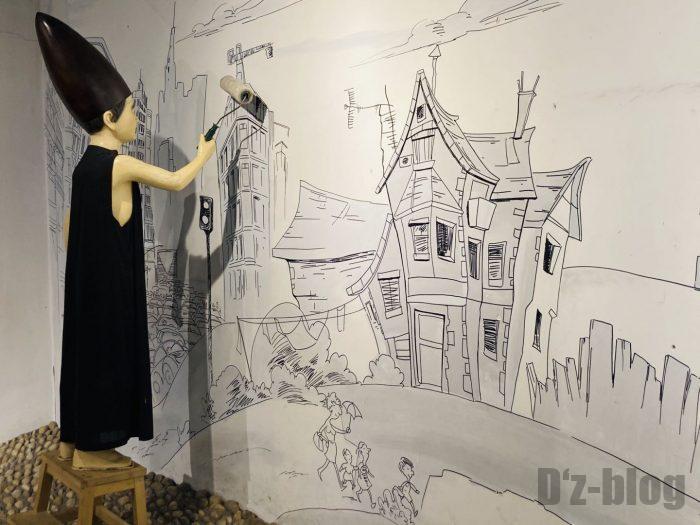 上海漫画博物館館内㊾