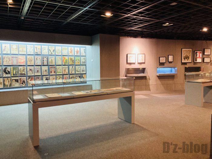 上海漫画博物館館内