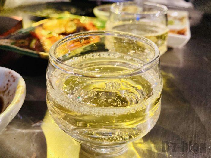 上海焼肉ひこぞうシャンパン
