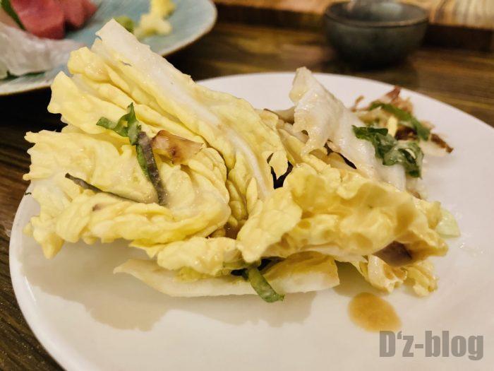 上海稲忠白菜サラダ