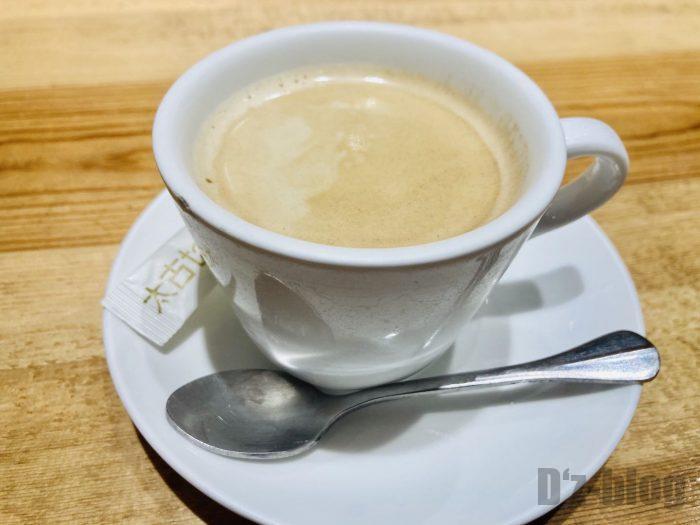 上海紋兵衛ホットコーヒー