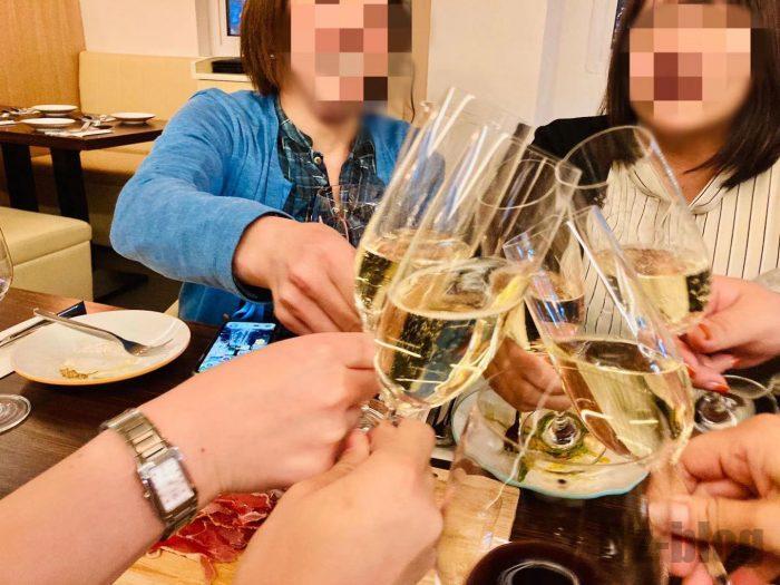 上海BAROLOシャンパン③