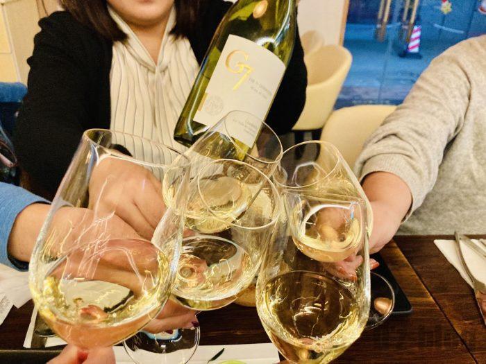 上海BAROLO白ワイン③