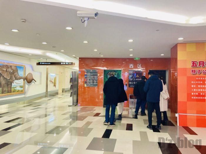 上海DoubleZスポーツバービルエレベーター