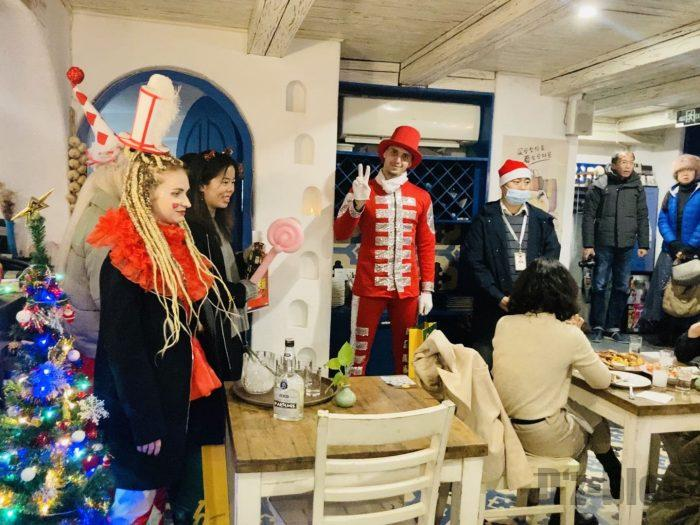 上海MILOSクリスマスイベント