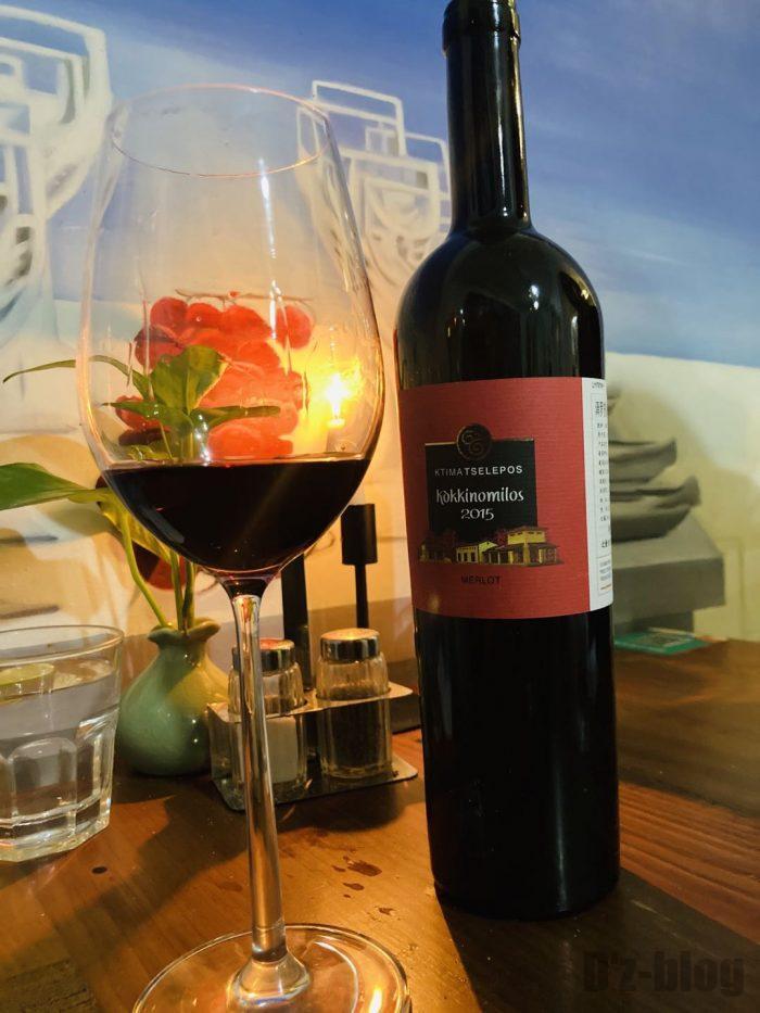 上海MILOS赤ワイン2