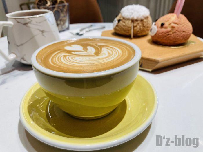 上海朵艾萌店舗コーヒー