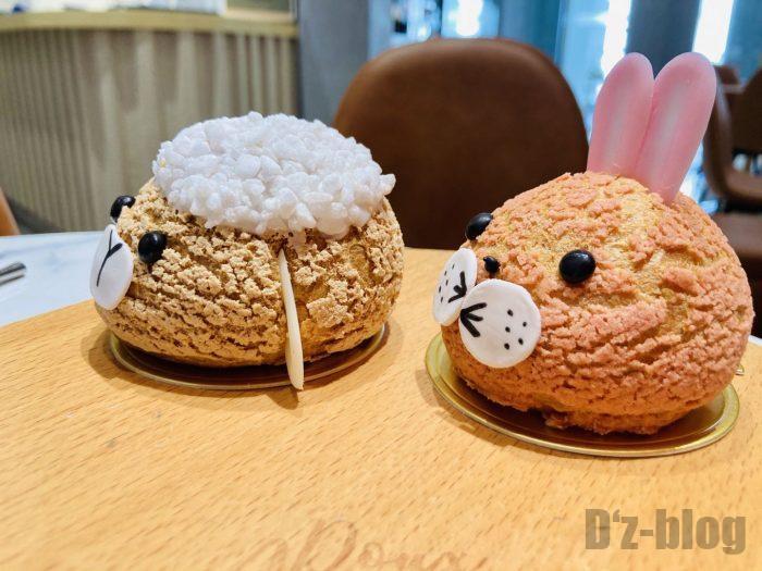上海朵艾萌店舗シュークリーム