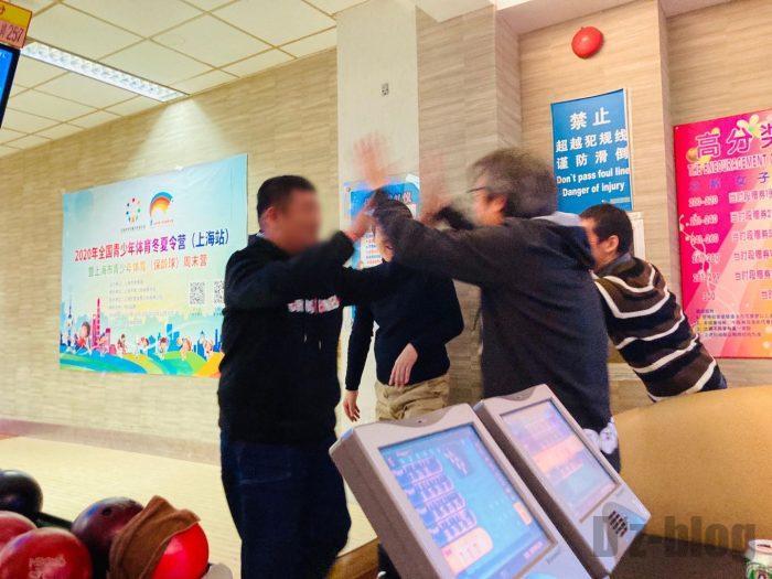 上海欧登保齢球館館内⑦