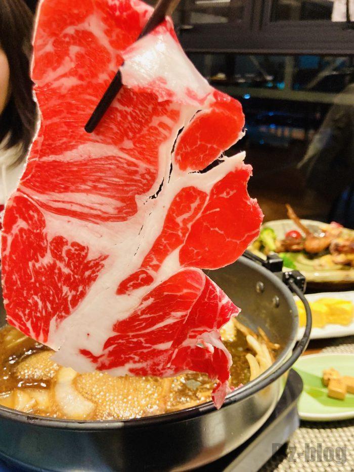 上海紋兵衛すき焼き肉