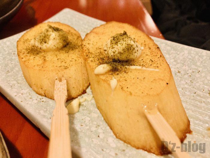 上海花ちゃんの台所山芋串
