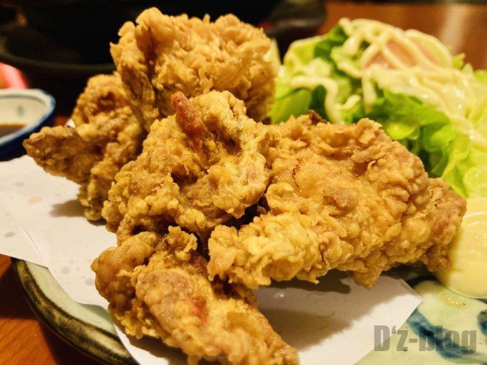 上海花ちゃんの台所鶏の唐揚げ