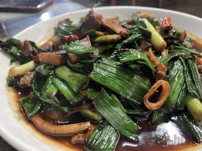 上海蔵書羊肉炒め物