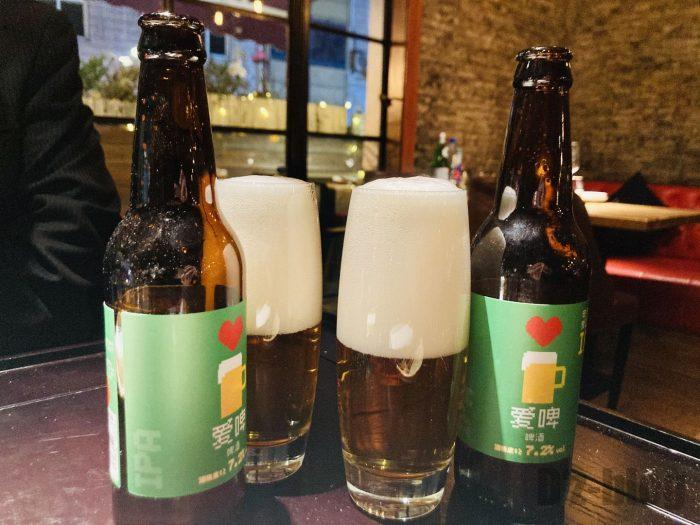 上海OSTERIAビール