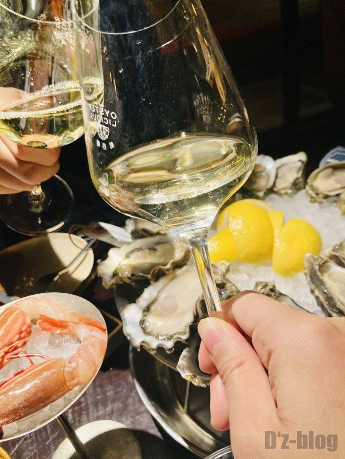 上海OSTERIA白ワイン②