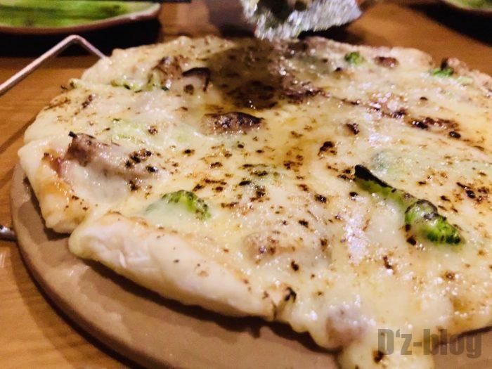 上海tetote照り焼きチキンピザ