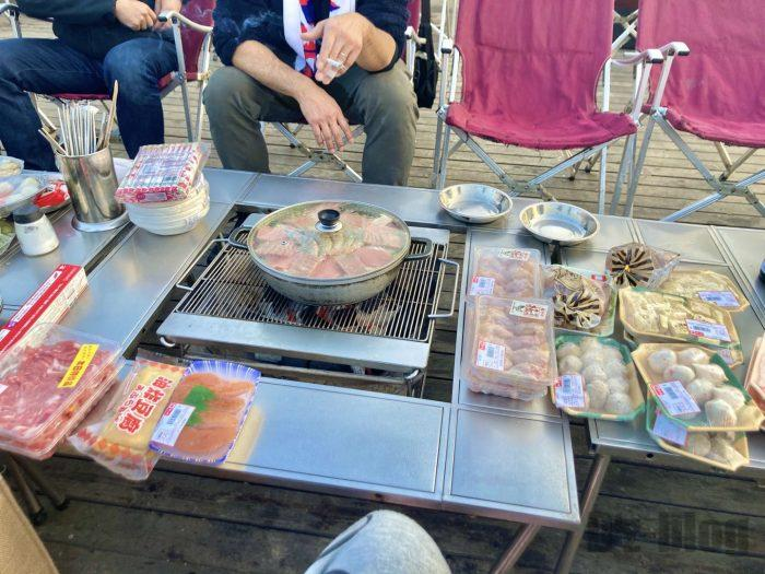上海光明海湾国家森林公園キャンプ鍋