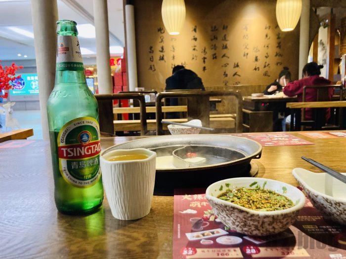 上海呷哺呷哺テーブル