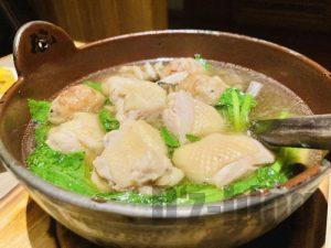 上海小山鶏なべ