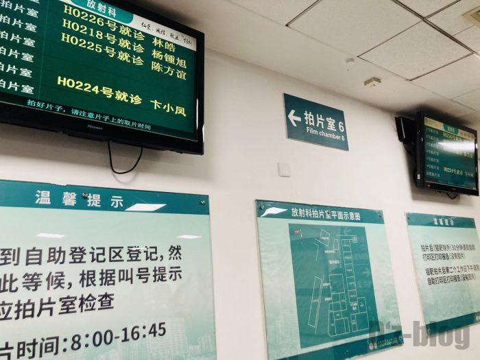 上海市第六人民医院順番待ち