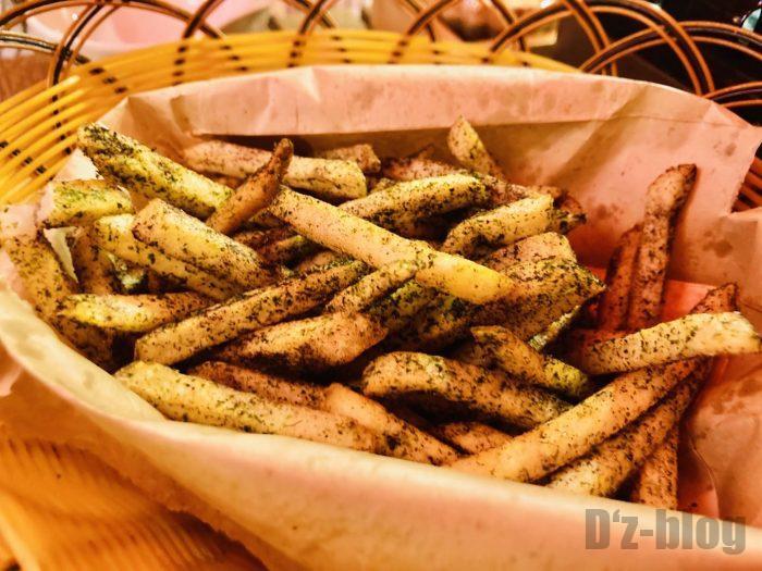 上海舌助ゆかりフライドポテト