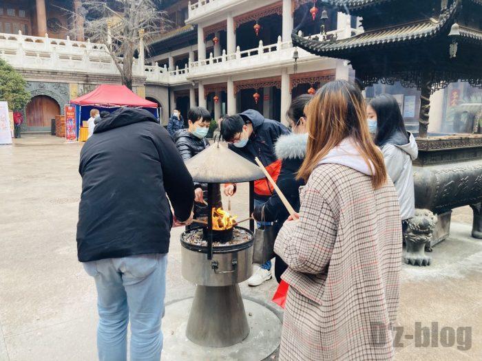 上海静安寺中庭④